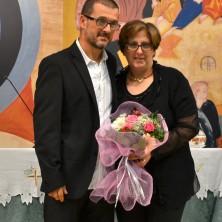 <p>Claudia Zappasodi con il maritoGioacchino Bruni: mamma e papà della casa famiglia Emanuela</p>